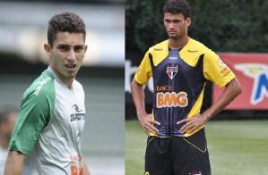 Grêmio aposta na renovação: jogadores jovens e de qualidade para buscar a América. Fotos: Porthus Junior (Alex Telles)/ Divulgação SPFC (Willian José)
