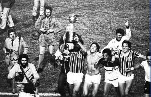 Título da Libertadores de 1983 conquistado no gramado do Olímpico Monumental